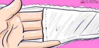 Bolsillo interior de la ropa interior femenina