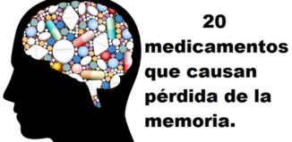 Medicamentos que causan perdida de memoria