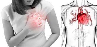 Ataque al corazón femenino
