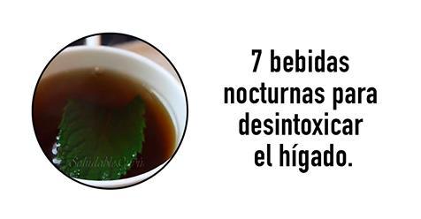 7 infusiones nocturnas para desintoxicar el h gado y quemar grasas mi vida plena - Alimentos que curan el higado ...