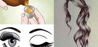 Ingrediente para tener cejas y pestañas sanas