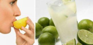 Cuidado al beber agua con limón