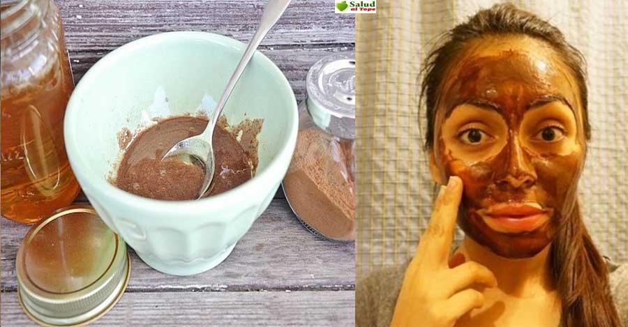 Mascarilla para eliminar manchas y cicatrices del rostro