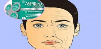 Crema de aspirinas para acabar con las arrugas