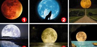 El test de la luna para descubrir personalidades ocultas