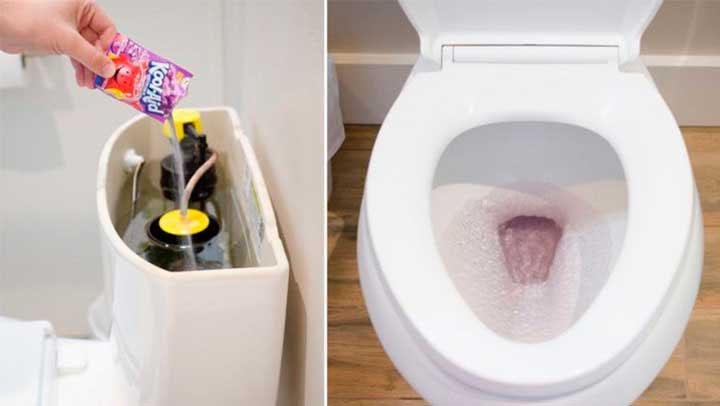 Trucos para limpiar el baño