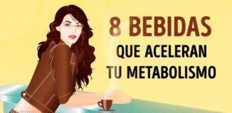 Bebidas naturales para acelerar el metabolismo