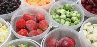 Cómo congelar frutas y verduras como un experto