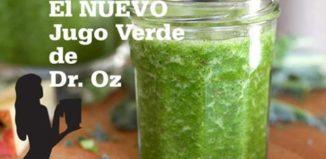 El jugo verde del Doctor Oz