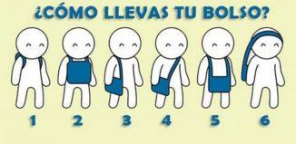 La forma en la que llevas tu bolso revela tu personalidad
