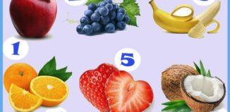 La fruta de la personalidad