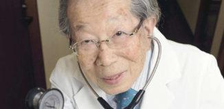 Los sabios consejos de este médico japones de 105 años