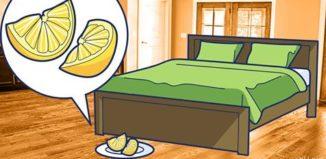Razones para tener una rodaja de limón al lado de la cama