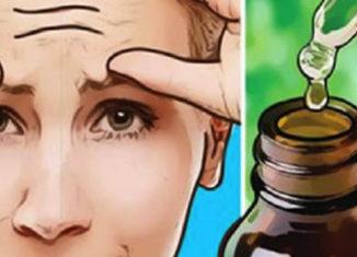 Aceite para las arrugas de la cara