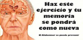Ejercicio para prevenir el alzheimer
