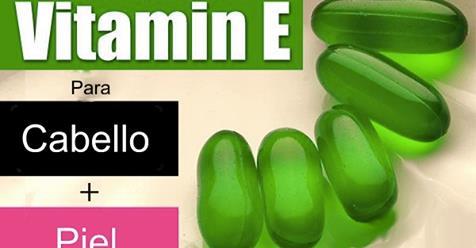 Vitamina E para el cabello efectiva