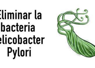 Método para eliminar la bacteria Helicobacter Pylori
